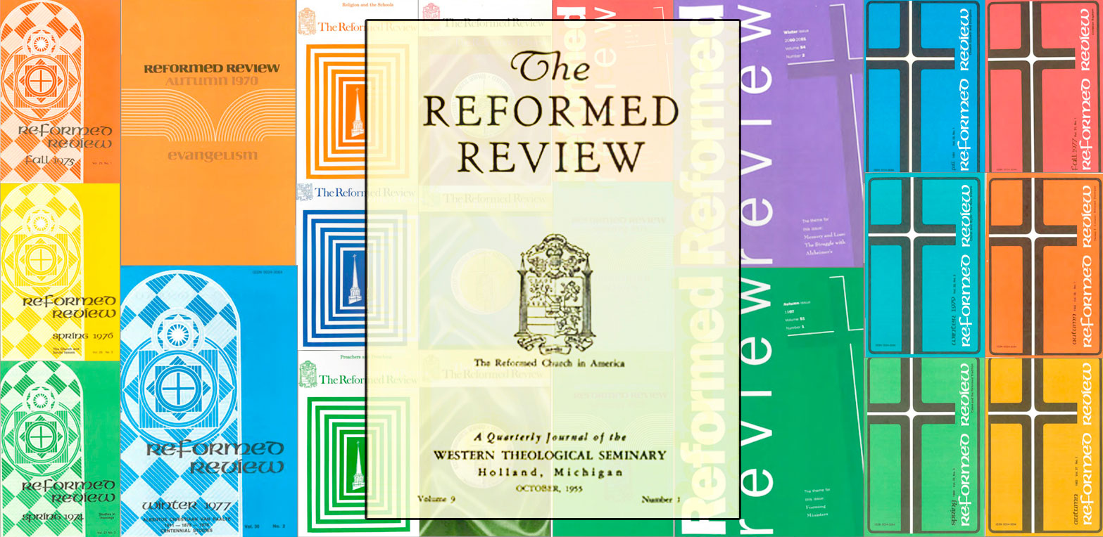 Reformed Review Cover Montage